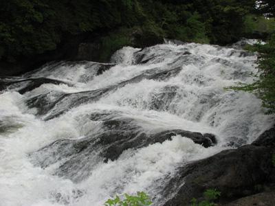 竜頭の滝上部