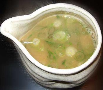 スープ割り