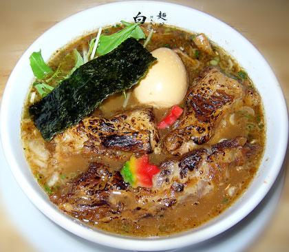 炙り焼き軟骨焼豚麺