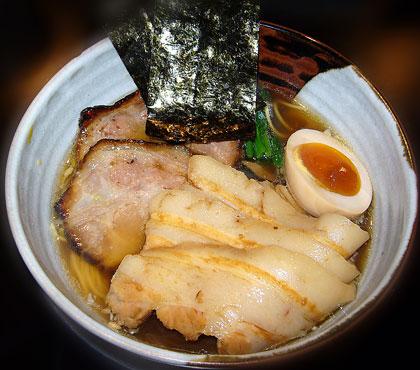 炙り漬け焼豚麺