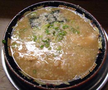 無鉄砲Wスープ