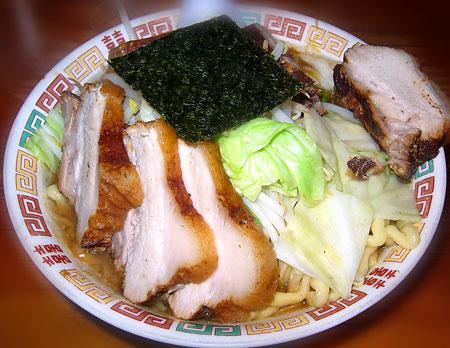 肉大入りW激太麺