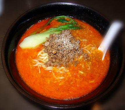 青蓮特製タンタン麺