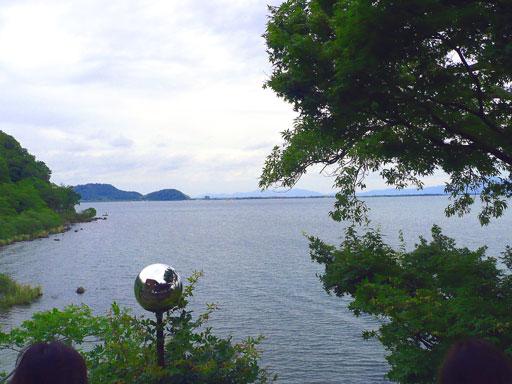 琵琶湖の眺め