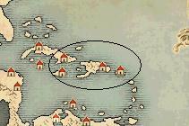 アンティル諸島沖