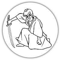 侍のカット画