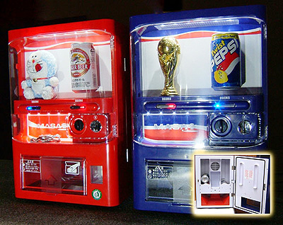 自動販売機型貯金箱