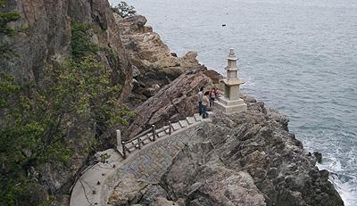 阿伏兎観音南端の岬