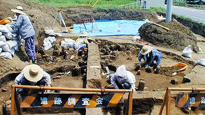 遺跡の発掘・新人の発掘
