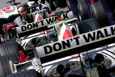 F1 BAR-HONDA:Don't Walk