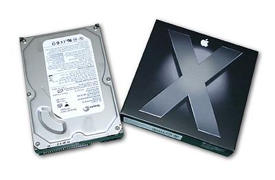 OSX虎とハードディスク