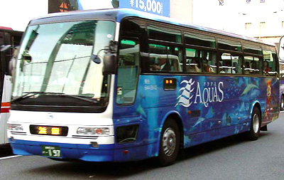 ラッピングバス:浜田