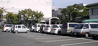 サンパル駐車場:開演1時間30分前