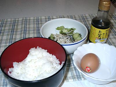 ヨード卵光で卵かけご飯
