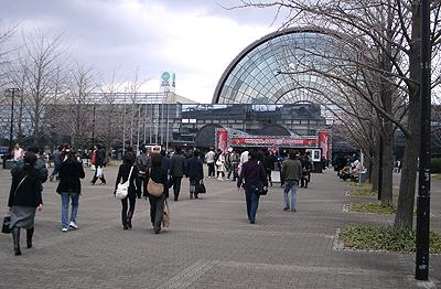 大阪オートメッセ2007の会場