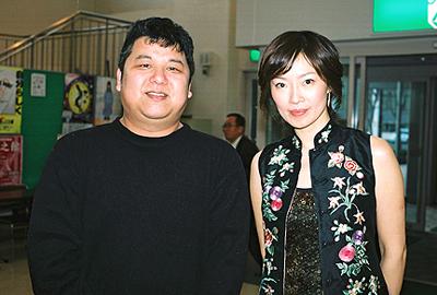 チェン・ミンさんとの2ショット