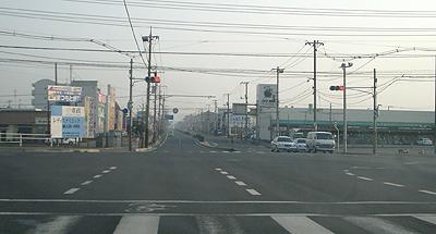 福山市の信号機事情