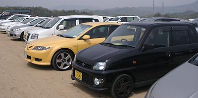 ちゅうピーまつり:駐車場