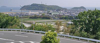 津田の松原サービスエリアのビューポイント
