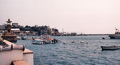 鞆の浦:港風景
