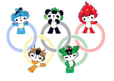 北京五輪マスコット