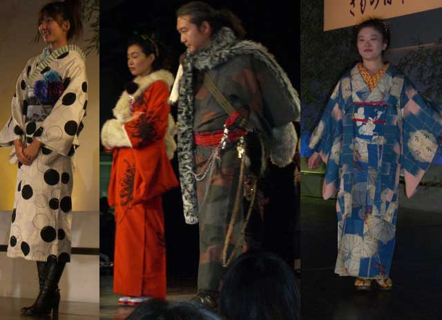 きもの日和ファッションショー