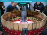 五一ワイン アイスワインの製造