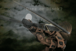 Dark or Black?