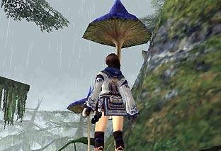 傘代わりに引っこ抜けないかな?