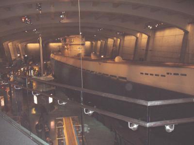 本物の潜水艦!