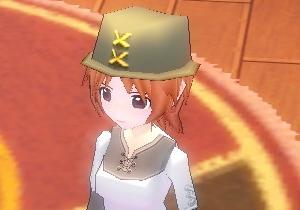 革の帽子・・・なんでストレートな名前