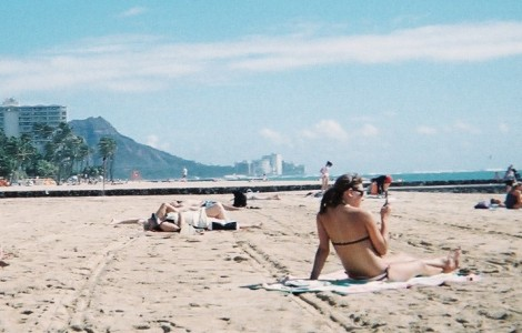 ハワイ ヒルトンプライベートビーチ