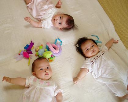最後のかしまし3人娘・・・