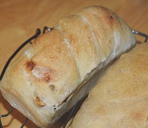 発酵不足の天然酵母パン