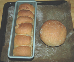 ドイツパン風のノルウェーパン