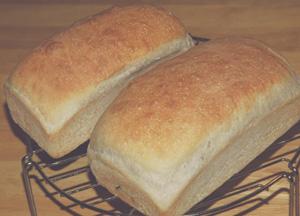 自家製天然酵母のシナモンレーズンパン