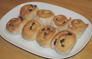 冷蔵発酵のうずまきパン