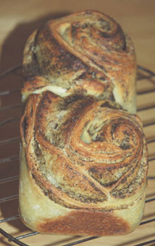 紅茶シートと紅茶酵母のパン