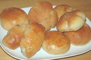ヨーグルト酵母のくるみパン