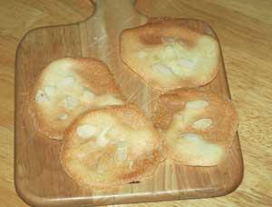 水種のクッキー