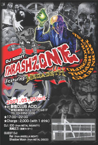 THRASHZONE Vol.III Flyer