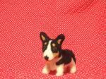 羊毛コーギー犬
