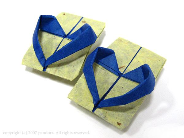 折り紙の ひまわりの折り紙の折り方 : 発達障害の子++母と子の折り紙 ...