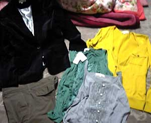 私がよく行く店で買ってくれた服vv
