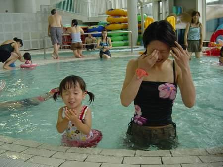 2005.7.10 リゾ鳴尾浜にて Sちゃんと