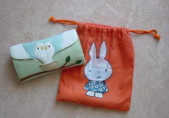 キタムラ財布&ミッフィー袋.