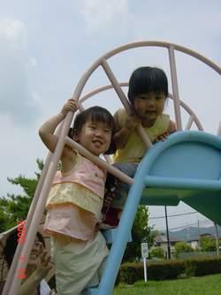 2005.7.19 仲良しな二人♪.JPG