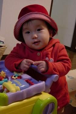 2004.1.4 向田さんからの帽子