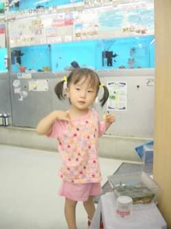 2005.8.6 ペットショップにて お魚さんだーいすき♪.JPG