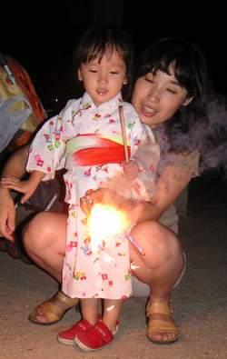 2005.8.6 一緒に花火♪.JPG